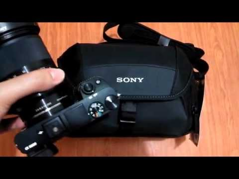 sony-lcs-u21-shoulder/sling-bag-unboxing-and-overview