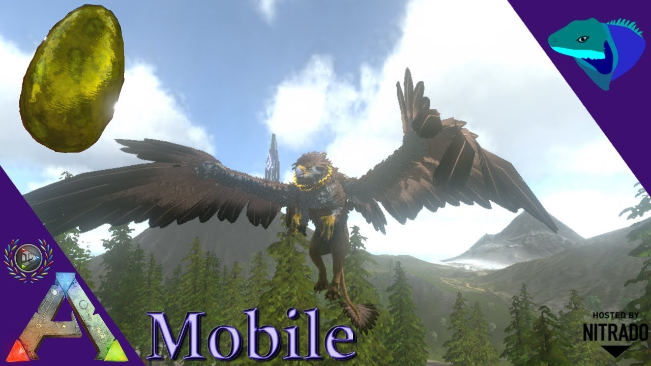GRIFFIN UPDATE! OVERVIEW, TAME, AND BREEDING! Ark: Mobile [S2:E12]