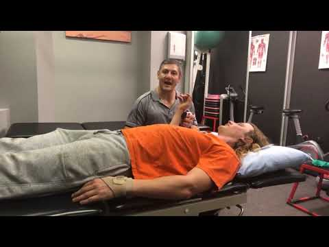 Shoulder Strength Testing with Digital Hand Held Dynamometer