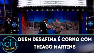 Baixar Desafio: Quem desafina é corno com Thiago Martins | The Noite (15/10/18)