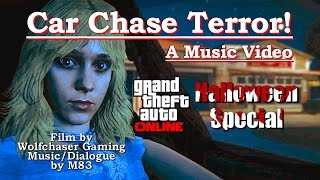 GTA 5 - Halloween Special - Car Chase Terror! a fan made music video - M83 - Rockstar Editor PS4