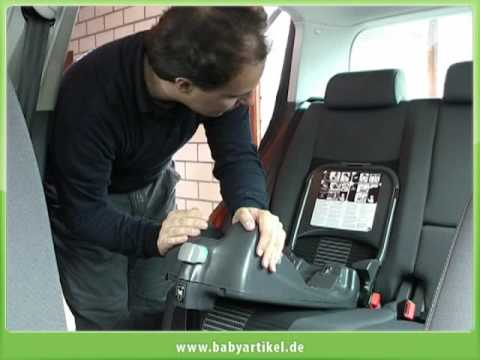 einbau babysafe plus isofix youtube. Black Bedroom Furniture Sets. Home Design Ideas