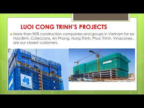 CONSTRUCTION NET - ANTI FALLING NET - PROTECT HUMAN
