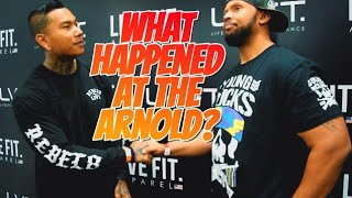 THE ARNOLD EXPO 2018  | DEADLIFTING COMPETITION | FULL DAY OF EATING