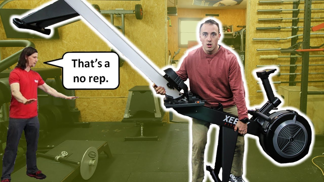 Crossfit xebex rower controversy tested youtube