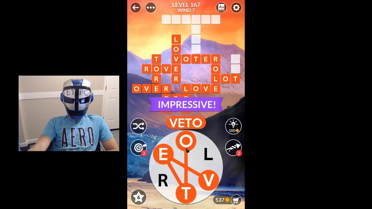 Wordscapes Level 167 Masaya Ang Mga Salita Youtube