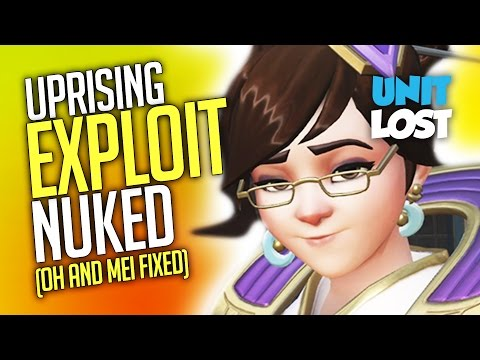 """Overwatch News - Uprising """"No Spawn"""" Exploit Nuked and Mei Fix Incoming!"""