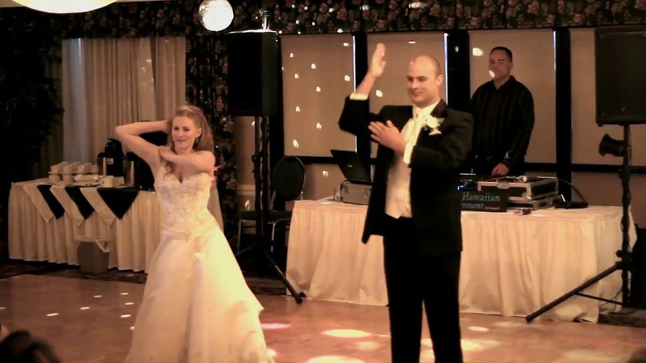 Best Surprise First Dance Ever Janet And Matt S Funny Wedding