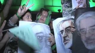 Youth rallies for Mir Hossein Mousavi