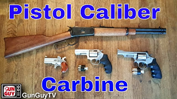 The Genius of the Pistol Caliber Carbine