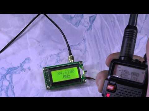 Тест частотомера RF 1 до 500 мГц для радиолюбителей