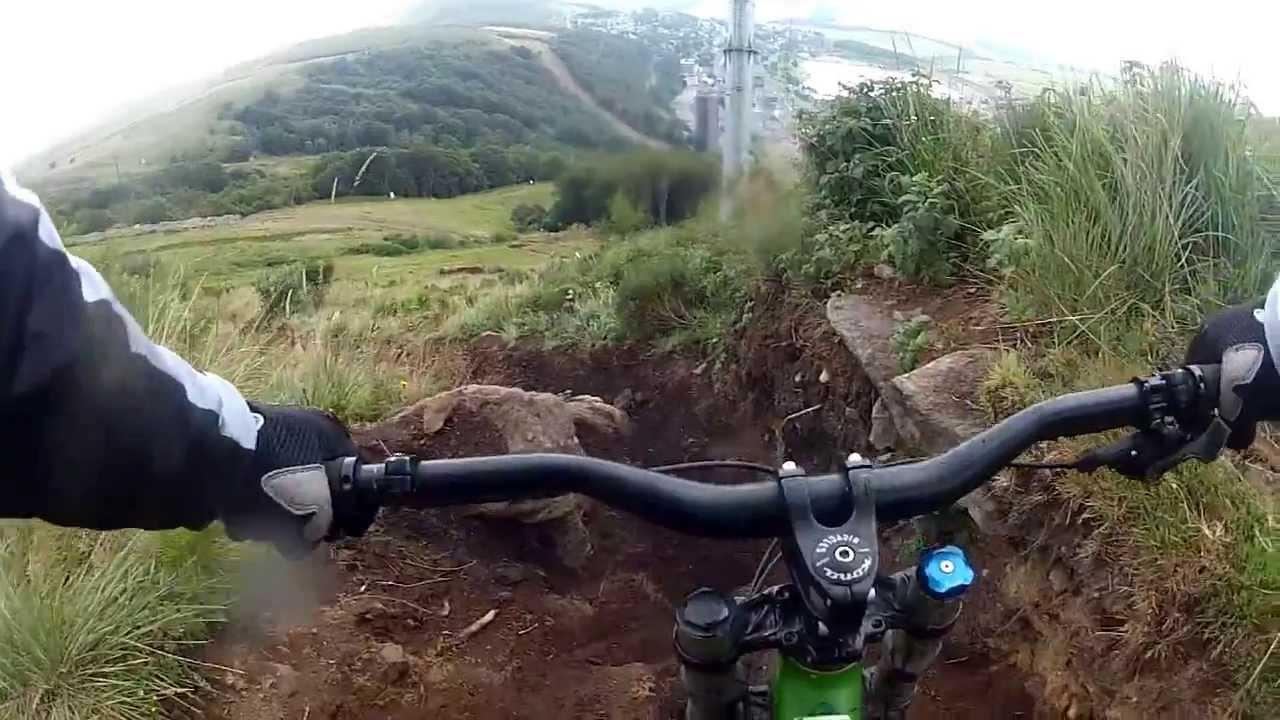 Vtt de descente super besse webcam