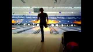 One legged bowling