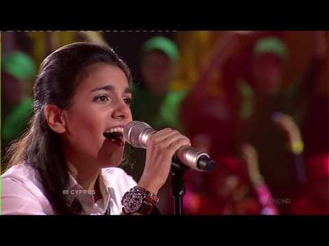Junior Eurovision 2009: Rafaella Costa - Thalassa, Helios, Aeras, Fotia (Cyprus)