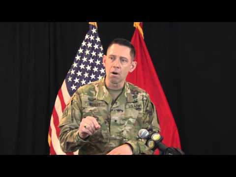 Brigadier General Eric Wesley Full Press Conference