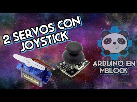 Arduino en mBlock 5: Servomotor con Joystick