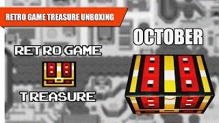RETRO GAME TREASURE Subscription Unboxing | October 2015