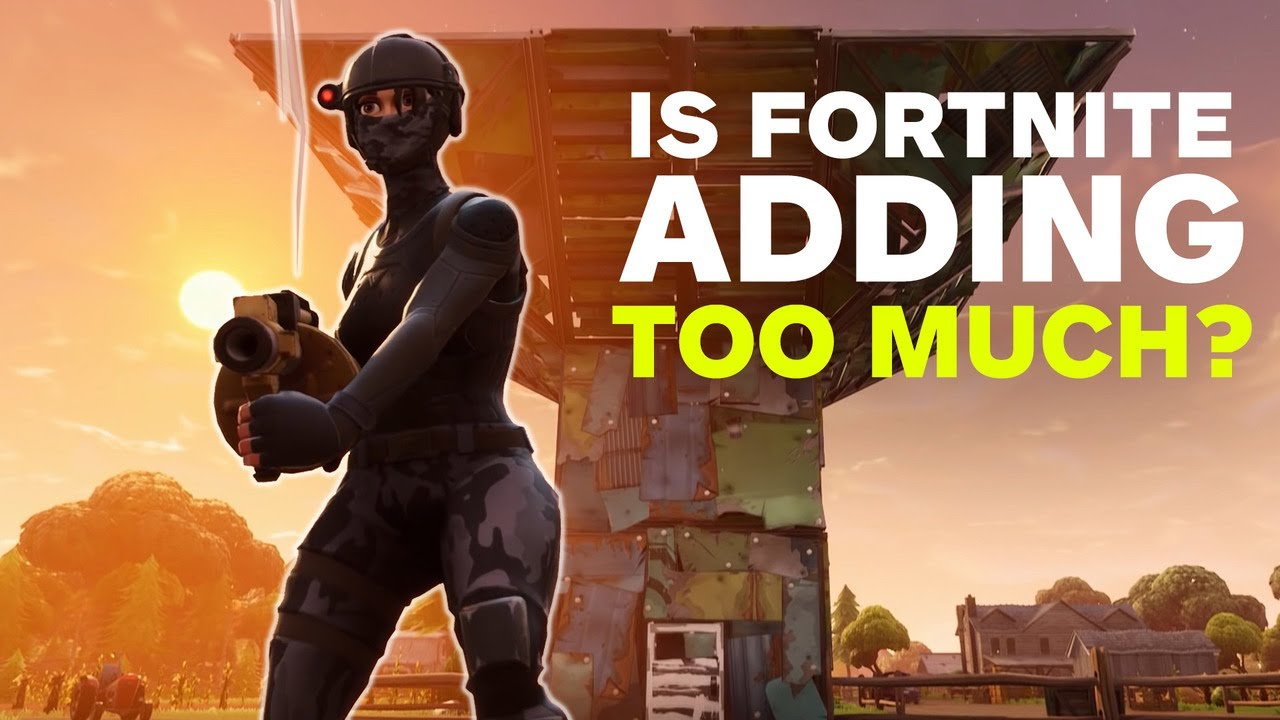 Fortnite: Are Port-a-Fort Like Additions Hurting The Game?