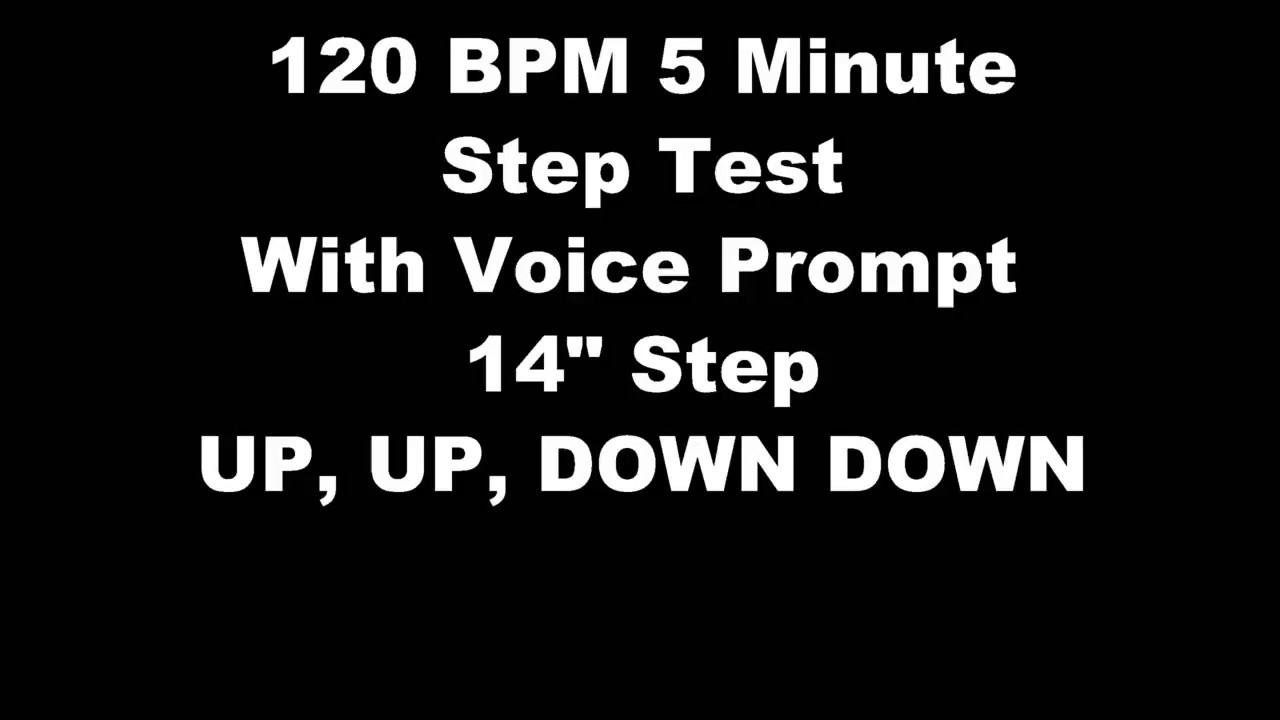 CBP PFT 1 5 minute step test  With Vocal Prompts