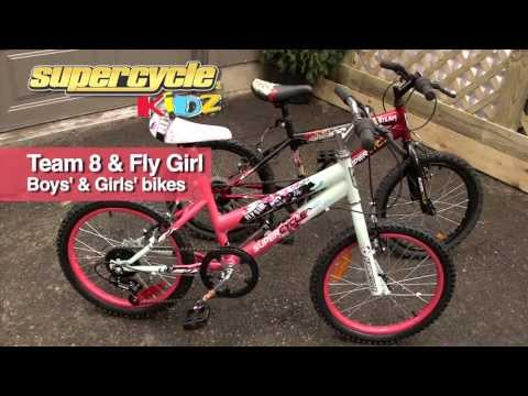 Supercycle Team 8 And Fly Girl Bicycles From Canadian Tire