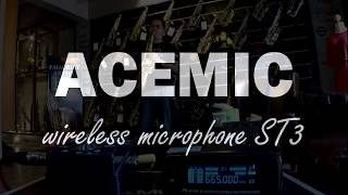 Acemic Wireless microphone ST-3