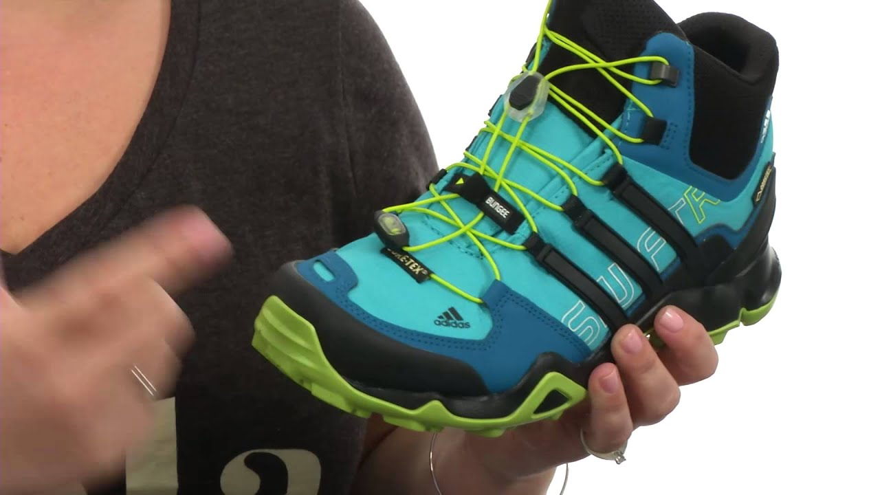 56fdce0b4e36b adidas Outdoor Terrex Swift R Mid GTX® W SKU 8330317 - YouTube