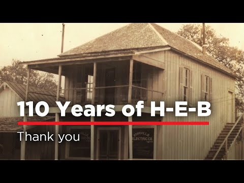 H-E-B Celebrating 110th Anniversary