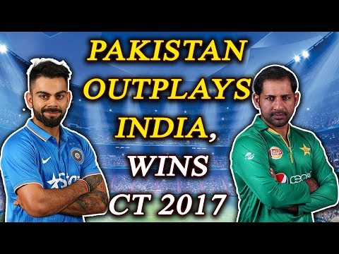 Thumbnail: ICC Champions Trophy: Pakistan defeats India by 180 runs, totally out-plays arch-rivals | Oneindia