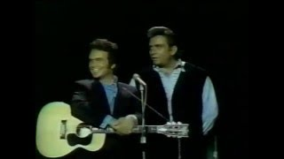 Merle Haggard live with Johnny Cash