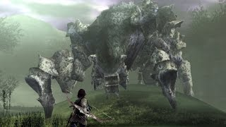 Shadow of the Colossus: Phaedra Boss Fight - 4th Colossus (PS3 1080p)