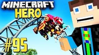 ACHTERBAHN FERTIG v.1 - Minecraft HERO #95
