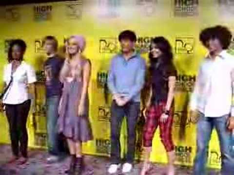 Zanessa + Co. Jumping for High School Musical!