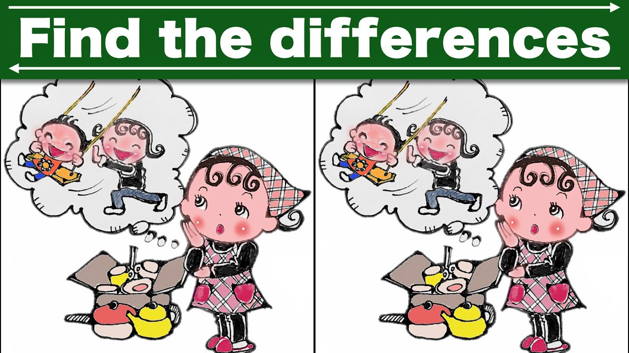 Download Find the difference|Japanese Pictures Puzzle No358