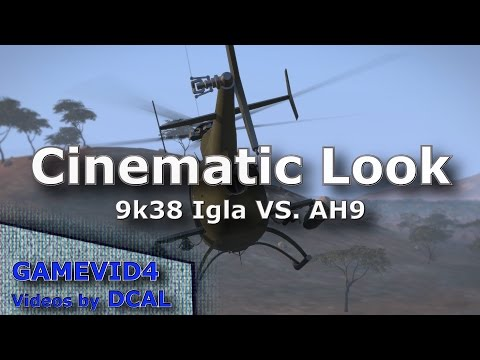 AH9 vs 9k38 Igla - a Cinematic Look (with surprise at the end)