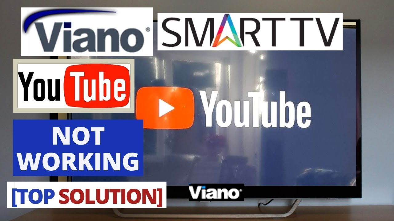 How to Fix YouTube Not Working on Viano Smart TV || YouTube Viano TV  Problems & Fixes