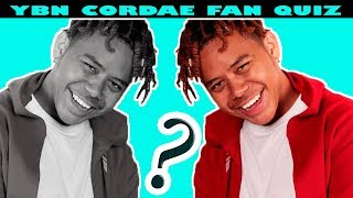 YBN CORDAE FAN QUIZ~ IF YOU ARE A TRUE FAN YOU MUST PASS THIS Video