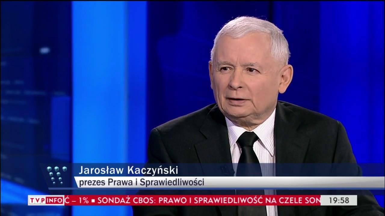 J. Kaczyński: dobra zmiana następuje – Gość Wiadomości