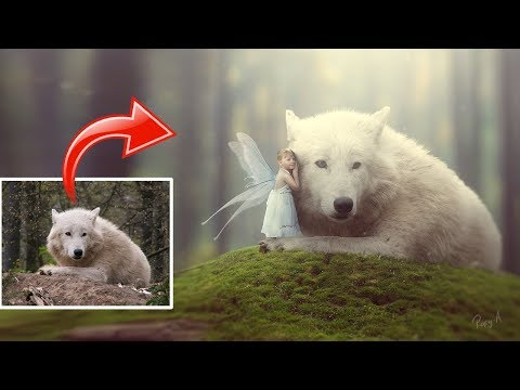 Making Of Fantasy Photo Manipulation Scene Effect In Photoshop CC 2018