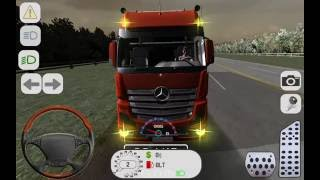 Euro Truck Simulator 3D - Best Android Gameplay HD