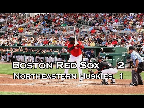 Red Sox Northeastern Huskies Game : Buchholz & Porcello in short debut