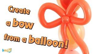 Wie Erstellen Sie einen Bogen aus einem 160Q Ballons