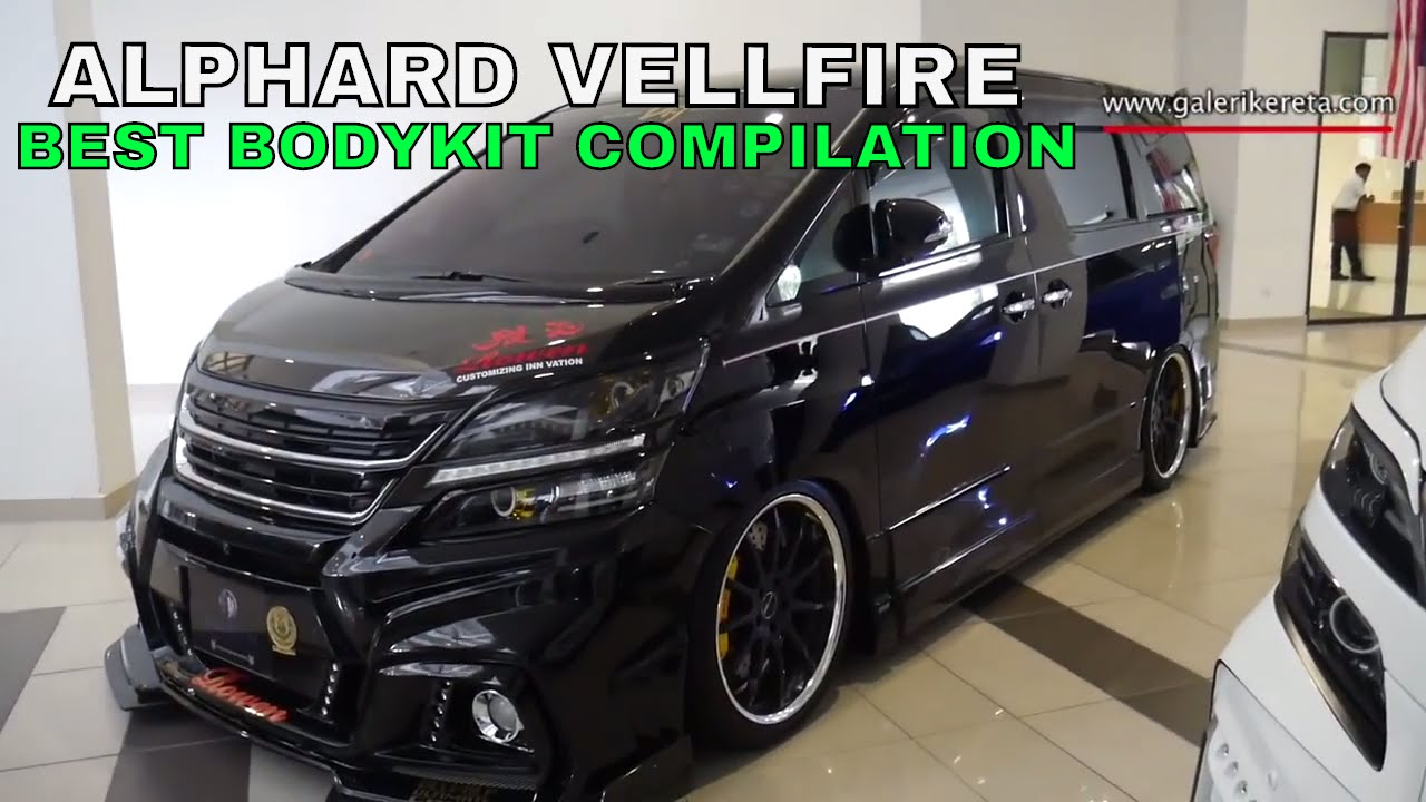 jual all new alphard pajak grand veloz the best compilation modified bodykit of vellfire nov 2016 youtube