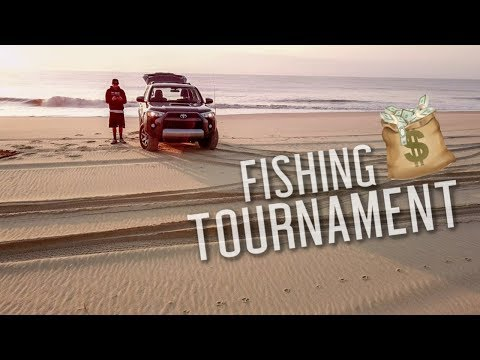 My First Surf Fishing Tournament!! ($$$)