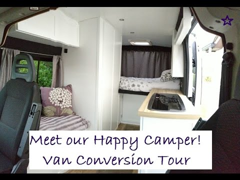 Self Build Campervan Conversion  Citroen Relay  YouTube