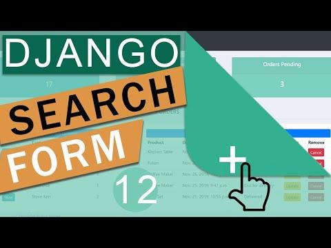 Filter Form Table Search   Django (3.0)  Crash Course Tutorials (pt 12)
