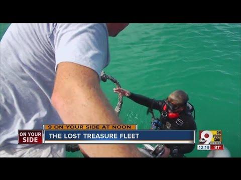 Cincinnati Treasure Hunter Finds Loot Under Atlantic Ocean