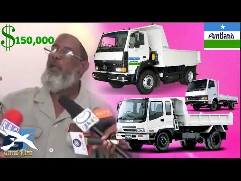 Ceeb Ganacsadihi Laga gaday baabuurti 150,000 ay Puntland ku gaday o ben ku shegay Daawo