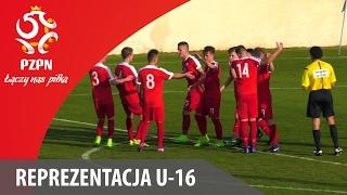 U-16: Bramki z meczu Cypr - Polska