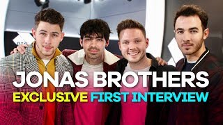 Jonas Brothers FIRST interview: Reunion, weddings & working with Busted