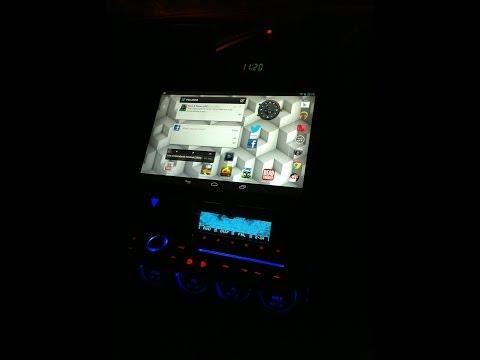 Google Nexus 7 car install Toyota Celica GT-S Gen 7 using Car Home Ultra